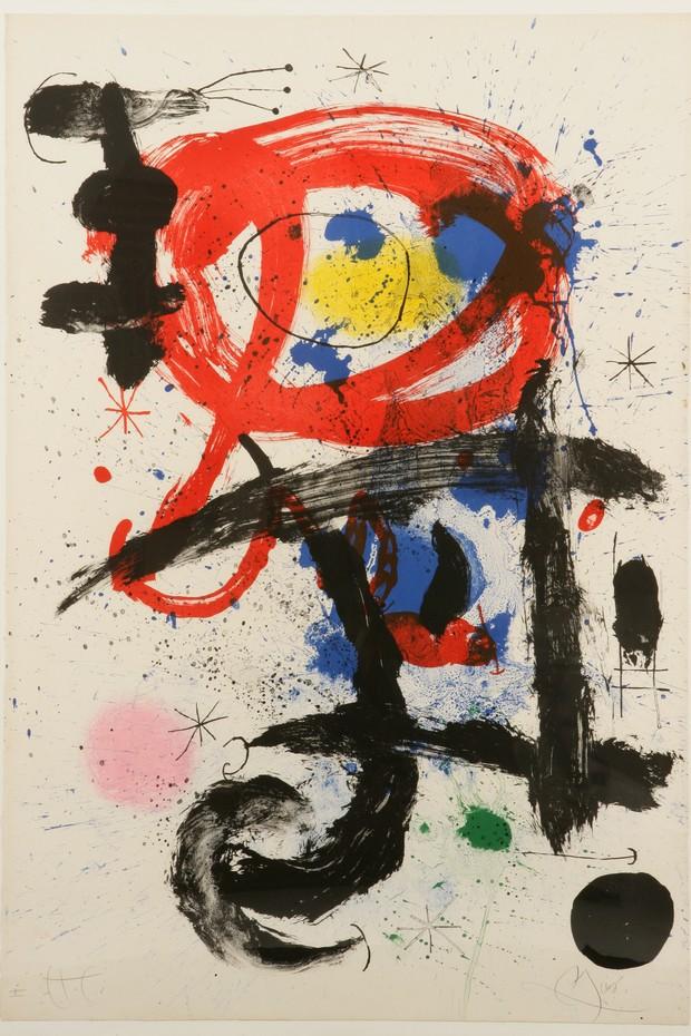 """""""Le cheval ivre"""", de Miró (Foto: Divulgação)"""