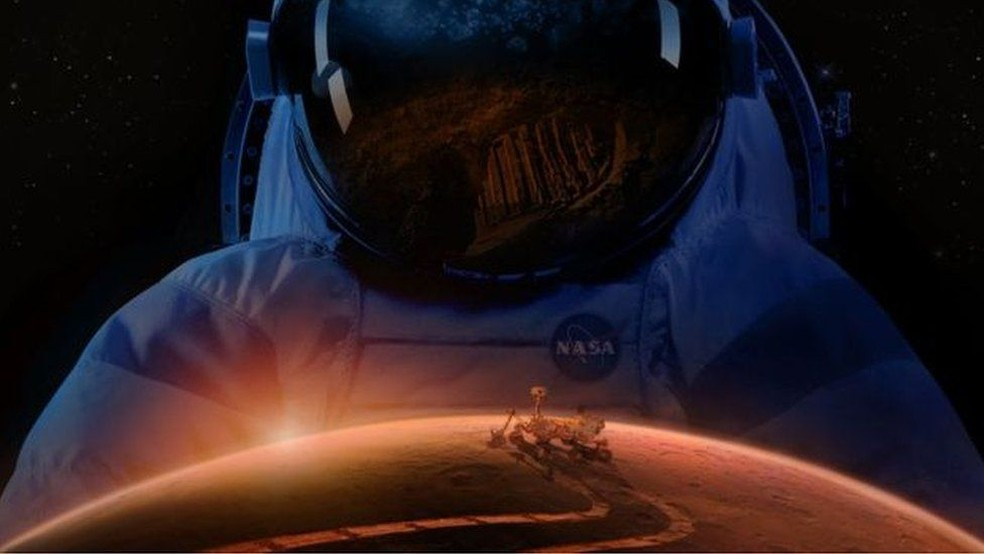 Nasa prevê comunidade humana em Marte a partir da década de 2030 (Foto: Nasa)