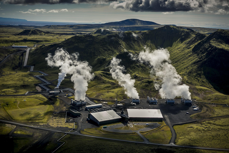 Primeira usina elétrica com emissão zero fica na Islândia (Foto: Divulgação/Arni Saeberg)
