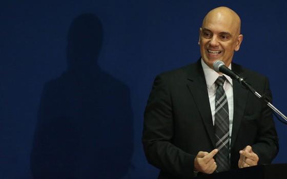 O ministro da Justiça, Alexandre de Moraes (Foto:  Pedro Kirilos / Ag. O Globo)
