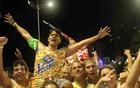 Voa-Voa tira fôlego de folião chicleteiro (Ronaldo Silva/G1)