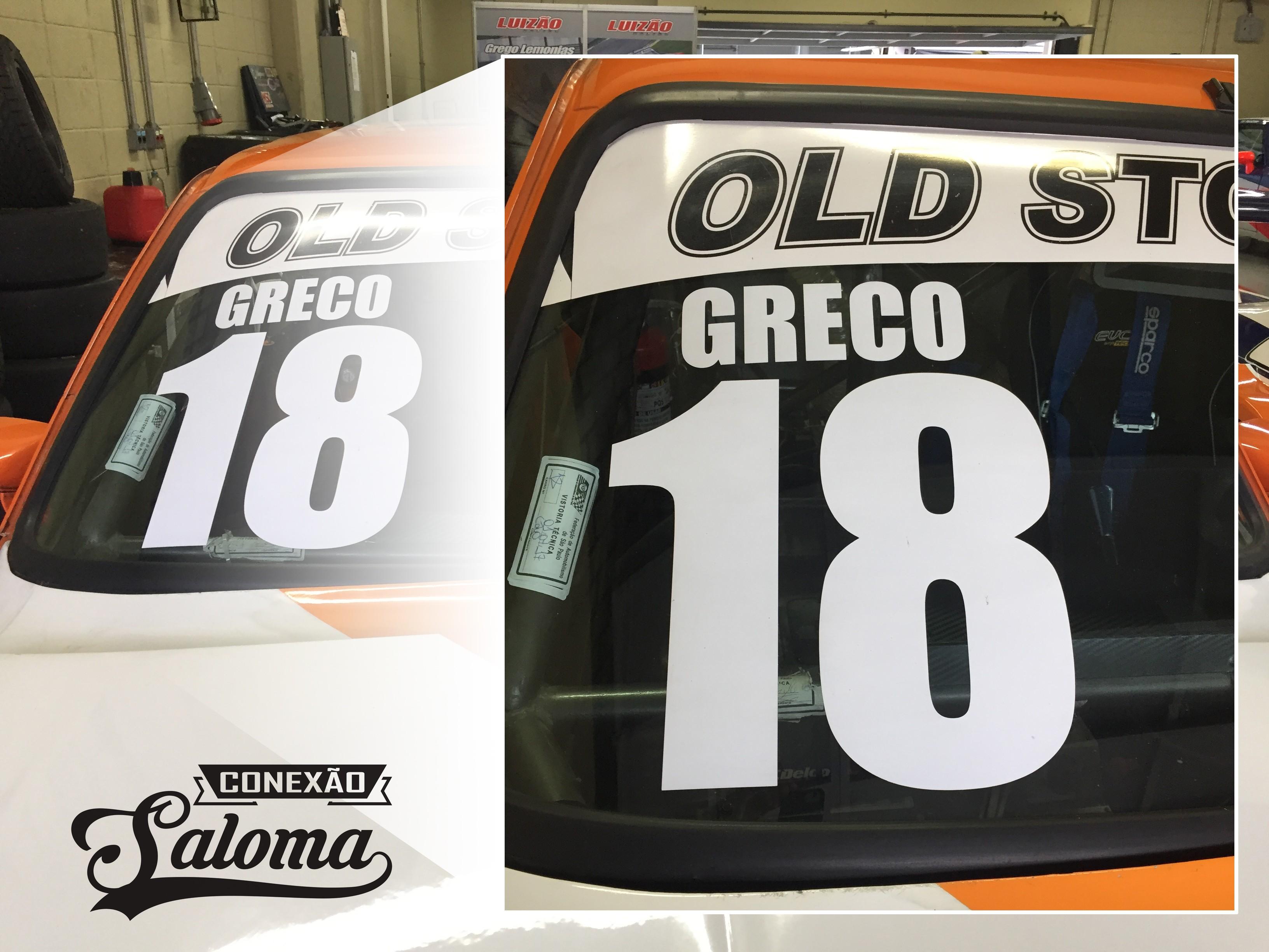 Novo layout de identificação de piloto e numeral dos Old Stock (Foto: Conexão Saloma)