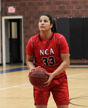 Izabela Nicoletti - basquete - NAC (Foto: Valerie Weaver/NAC Lions)