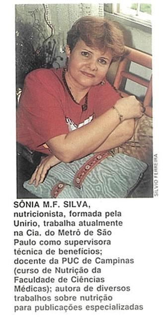 cronica-sonia-m-f-silva (Foto: Editora Globo)