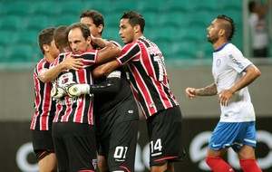 Rogério Ceni gol São Paulo (Foto: Edson Ruiz / Ag. Estado)