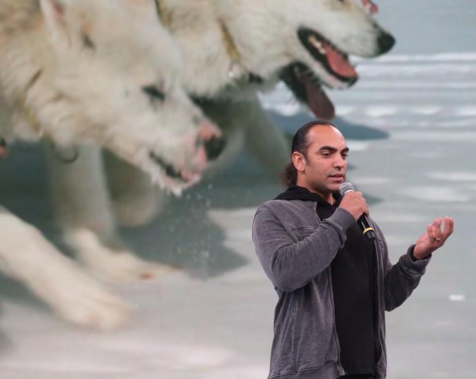 Descendentes de lobos, os cães são super-resistentes (Foto: Carol Caminha / Gshow)