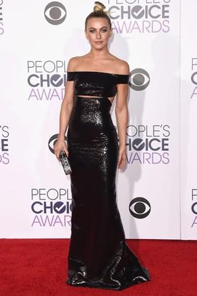 Atriz Julianne Hough em premiação em Los Angeles, nos Estados Unidos (Foto: Jason Merritt/ Getty Images/ AFP)