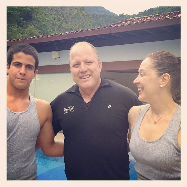 Enzo e Claudia Raia (Foto: Reprodução/Instagram)