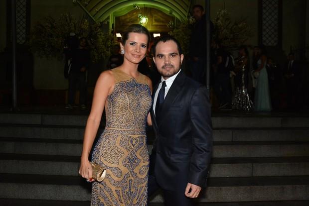 Luciano Camargo e Flavia (Foto: Caio Duran/Photo Rio News)