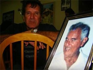 Porta-retrato guarda a lembrança do pai Walter (Foto: Arquivo Pessoal)