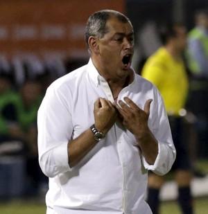 Arce treinador Olimpia (Foto: REUTERS/Fernando Alfonso)
