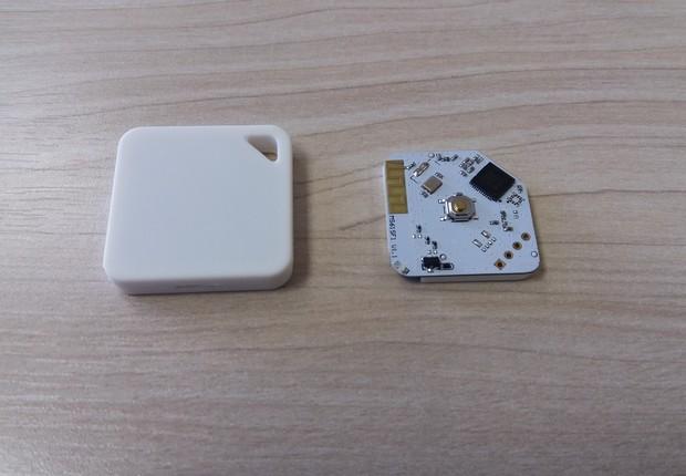 Protótipo de beacon desenvolvido pela Taggen (Foto: Divulgação)