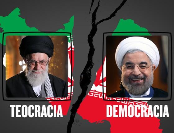 As eleições no Irã e o embate entre teocracia e democracia (Foto: Pedro Schidt/Infografia)