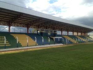 Estádio General Sampaio, em Porto Nacional (Foto: Camila Rodrigues)