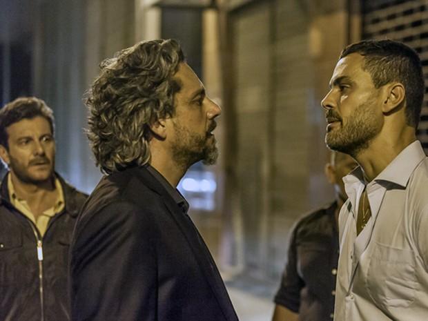 Maurílio conta que Marcão do camelódromo lhe ajudou (Foto: Artur Meninea/ Gshow)
