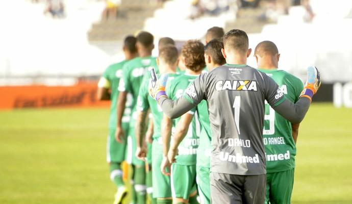 Chapecoense apresenta (Foto: Cleberson Silva/Chapecoense)