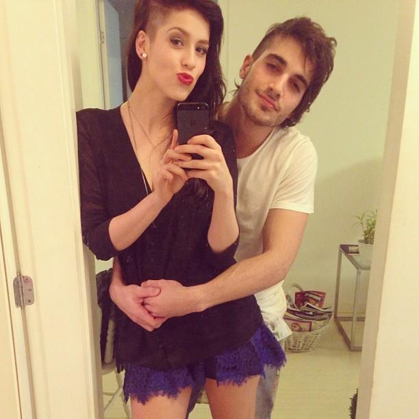 Fuik e Sophia (Foto: Reprodução/Instagram)