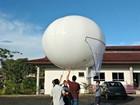 Pesquisadores desenvolvem balão para levar internet à área rural no AM