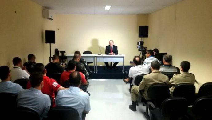 Reunião Juizado do Torcedor TJRN (Foto: Divulgação/TJRN)