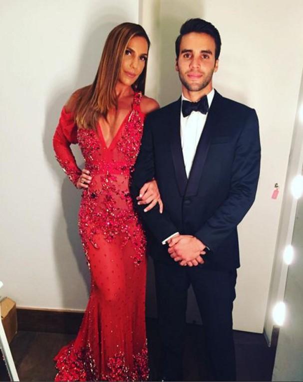 Ivete Sangalo e o marido (Foto: Reprodução Instagram)