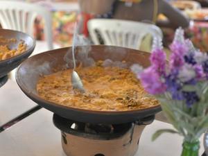 Moquecas e frutos do mar estão no cardápio do restaurante (Foto: Josemar Pereira/Ag Haack)