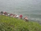 Bombeiros seguem buscas por homem desaparecido em rio do TO