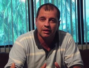 Fábio Macedo, presidente do Aeroclube do RN (Foto: Augusto Gomes/GLOBOESPORTE.COM)