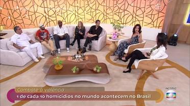 Combate à violência: 1 de cada 10 homicídios no mundo acontecem no Brasil