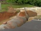 Cidades mantêm alerta e contabilizam danos causados por chuvas em MG