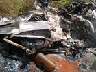Mãe e filho morrem carbonizados após acidente na BR-452, em Goiás