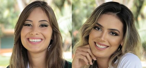 Helika Rios e Michelle Asevedo. (Foto: TV Anhanguera)