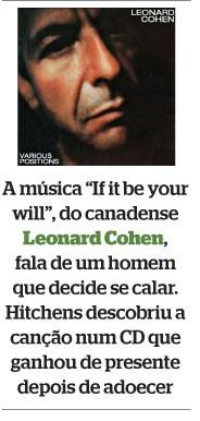 Leonard Cohen (Foto: divulgação)