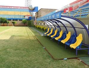 Estádio Feliciano Cáceres (Foto: Elton de Castro)