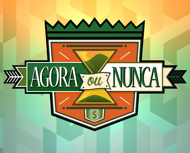 Logo Agora ou Nunca (Foto: Caldeirão do Huck/TV Globo)