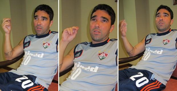 entrevista Deco Fluminense (Foto: Edgar Maciel de Sá / Globoesporte.com)