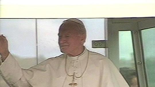 Visita do Papa João Paulo II a Vitória completa 25 anos; relembre