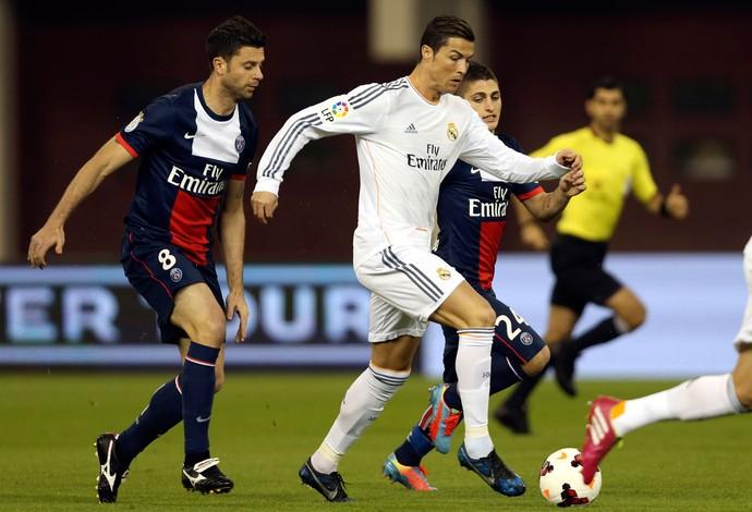 Cristiano Ronaldo, Real Madrid x PSG (Foto: Reuters)