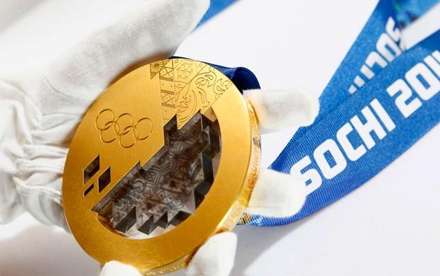 Medalhas olimpíada de inverno sochi 2014 (Foto: Agência Reuters)