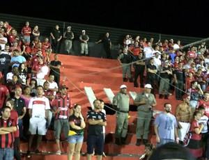 Estádio Bento Freitas Flamengo x Brasil de Pelotas (Foto: Ivan Raupp)