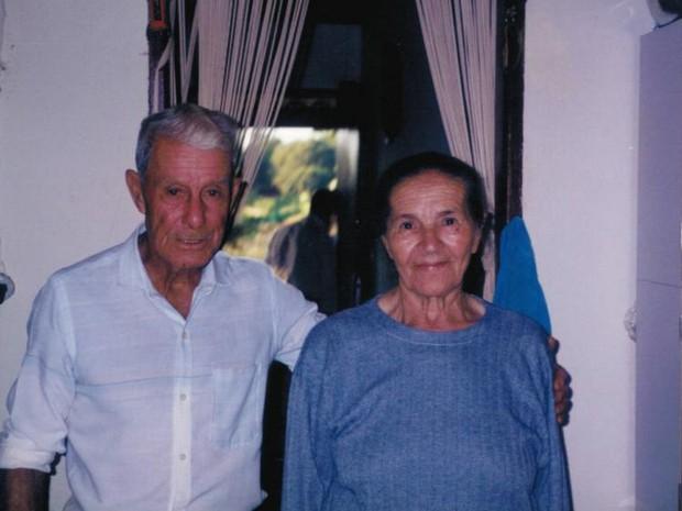 Dona Lázara e seo Anibal completariam 76 anos de casados no dia 16 de setembro (Foto: Arquivo pessoal)