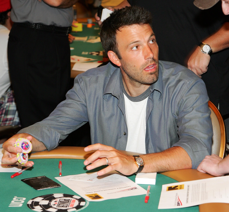 Como jogador de poker, Ben Affleck é um ótimo ator (ou não) (Foto: Getty Images)