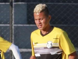 Rafinha, atacante do Treze (Foto: Junot Lacet Filho / Jornal da Paraíba)