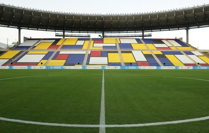 Estádio Estadual Kleber Andrade (Foto: Fernando Madeira/A Gazeta)