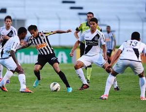Neymar Santos jogo Ponte Preta (Foto: Marcos Ribolli/Globoesporte.com)