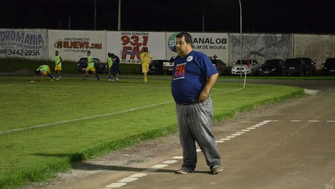 Fernando Lage, técnico do Rolim de Moura (Foto: Magda Oliveira)