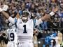 Um dia antes do Super Bowl 50, Cam Newton leva o prêmio de MVP da NFL
