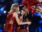 Nicki Minaj divide o palco com Taylor Swift após trocarem farpas na web