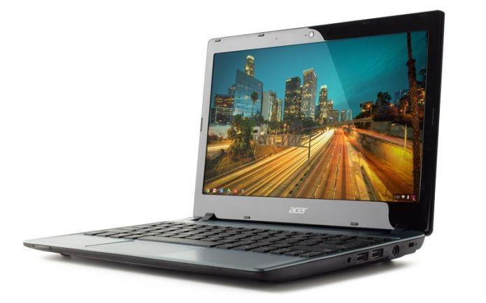 No Brasil, embora já antigo, o Acer C710 ainda é a melhor opção por seu custo-benefício (Foto: Divulgação)