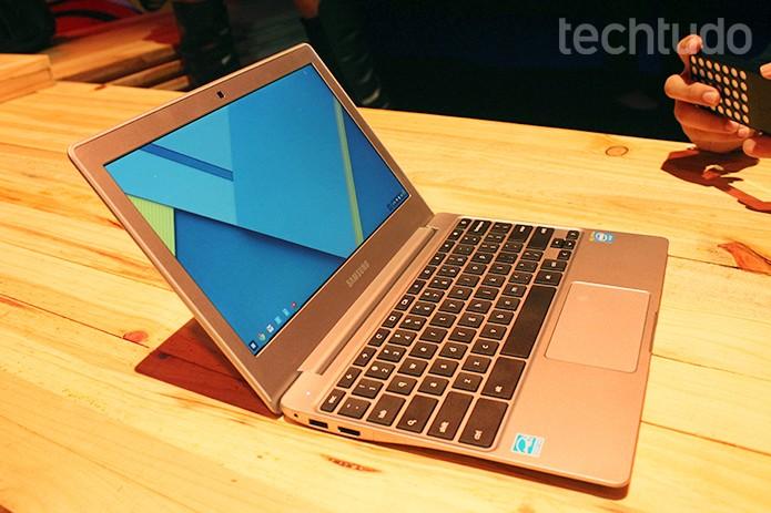 Samsung Chromebook 2  (Foto: Leonardo Ávila/Techtudo)