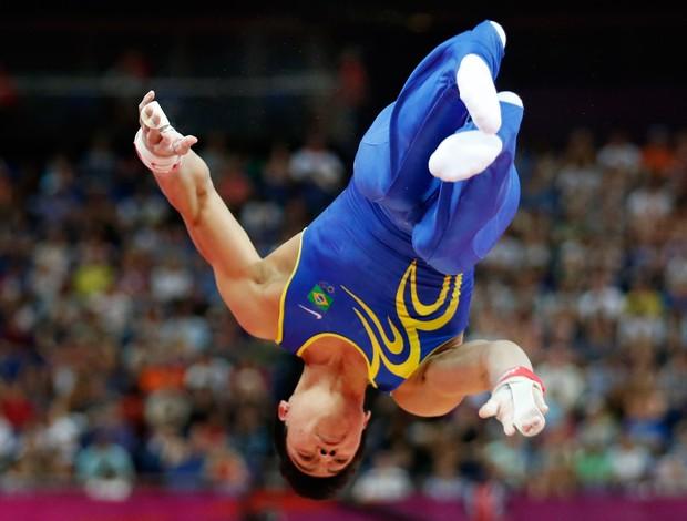 sergio sakaki ginástica londres 2012 olimpíadas (Foto: AP)